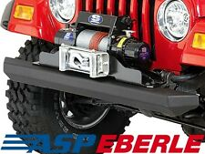 Rock Crusher Bumper Stoßstange Stahl schwarz vorne Jeep Wrangler TJ 96-06