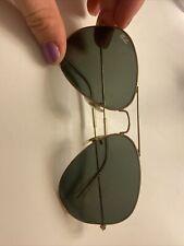 Ray-Ban Aviator Classic Sunglasses Gold Frame
