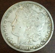 1881 S  Morgan Silver Dollar #23