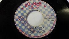 "Enos Mcleod - Cash &Carry /Reggae 45"" on Bounce Label Original 1983"