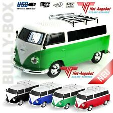 VW T1 Bulli Bluetooth Radio Player MP3 SD USB Akku Lautsprecher Box Speaker NEU