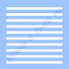 "0.20"" STRIPES MINI STENCIL LINES STRIPE TEMPLATE PAINT CRAFT PATTERN LINE NEW"