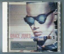 Grace Jones 2 cds set PRIVATE LIFE 1998 with sticker 26-track 524 501-2 Remixes