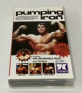 Pumping Iron VHS Seven Keys Video