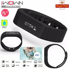 Bluetooth Sport Health Wristband Smart Bracelet Watch Step Calories SMS Reminder