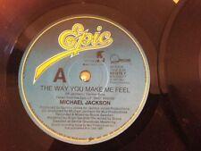 Michael Jackson Pop 45 RPM Speed Vinyl Records