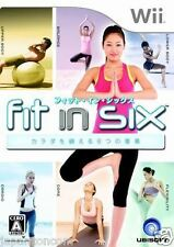 Used Wii Fit in Six: Carada  Nintendo JAPAN JP JAPANESE JAPONAIS IMPORT
