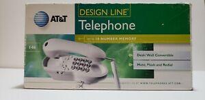 AT&T 146 DesignLine Telephone Windchill White