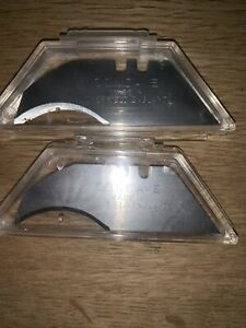 Concave  Knife Blades Made In Sheffield Pack of 20