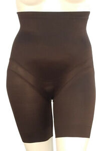 Size 3XL Plus Miraclesuit Hi Waist Thigh Slimmer 2939 Black RRP £60
