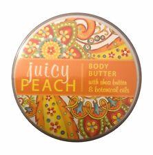 Greenwich Bay JUICY PEACH Body Butter with Shea Butter, 8 oz.