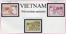 VIETNAM N°1009/1011** MEDECINE Vaccination, 1989 Vietnam 2037-2039 Medicine MNH