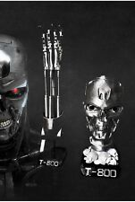 Terminator endoskeleton life size 1:1 arm replica and Skul bust with stand