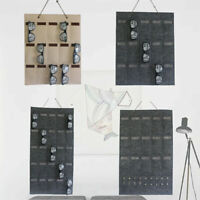 Eyeglass Sunglasses Storage Bag Display Felt Wall Stand Glasses Organizer Holder