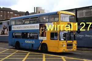 6x4 Bus colour photograph Kelvin Central Buses Olympian ULS96X