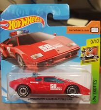 Hot Wheels 2018 Lamborghini Countach Pace Car [RED] *12 CARS POSTED FOR $10*