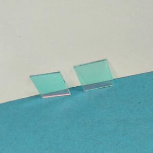 2pcs Optical UV/IR CUT Filter 650nm IR Blocking Filter 10X10mm