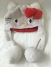 Hello Kitty by Sanrio Cosplay Hat with Ear Flaps 2010 Soft Fun Winter Halloween