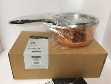 NIB~Tramontina Barazzoni 2 Quart Pan, Copper Exterior~ship free