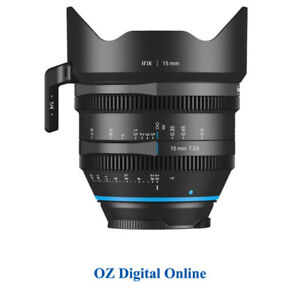 New Irix Cine 15mm T2.6 (Canon EF) Imperial Lens 1 Year Au Warranty