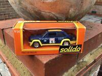 Solido gam2 No54 Fiat 131 Rallye 1/43 Scale Very Good Condition
