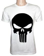 REVENGER SKULL T Shirt 100% Combed Cotton Short Sleeve Tee Costume Superhero WB