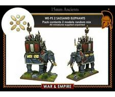 Forged in Battle Ancient Mini Persian 15mm Elephants - Sassanid Pack New