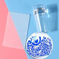 Nail Art Stamping Stamper Scraper Image Printing Plate Manicure Print Tool D HO