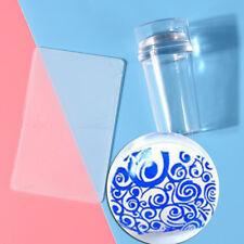 Nail Art Stamping Stamper Scraper Image Printing Plate Manicure Print Tool Dji