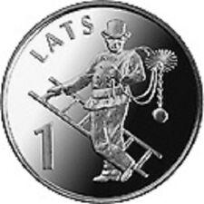 Latvia / Lettland - 1 lat Chimney-sweep