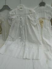 Lot de 3 robes de baptême - baptismal dress - Poupée - Poupon - Début XXeme