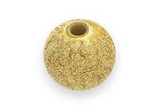 150 Pcs Stardust Gold 8Mm Metalic Round Beads Acrylic Diy Jewelry Crafts H0639