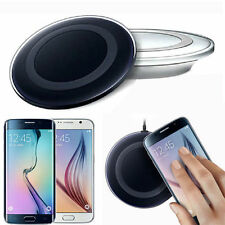 Qi Wireless Samsung Galaxy S6 S7 S8 Edge Google Charger Charging Pad Dock Black