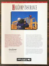 Wellfleet Communications - CalComp Insurance Applications Sales Brochure (1992)