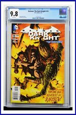 Batman The Dark Knight #14 CGC Graded 9.8 DC January 2013 White Pages Comic Book