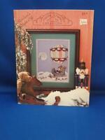 Silver Lining Creations REINDEER NIGHT OFF X Stitch Chart Santa Hot Air Balloon