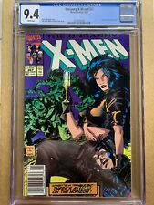 Uncanny X-Men #267 CGC 9.4 Rare Newsstand Variant with White Pages!!!!