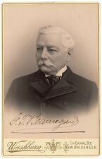 Pristine, C S A General P. G. T. Beauregard, Pristine Cabinet Photograph Signed