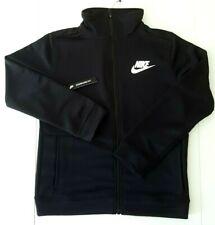 Nike Boys Full Zip Kids Sports Training Top Black Track Jacket M 10-12 years