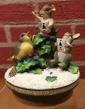 "Charming Tails Candletopper ""Everybody Sing"" - Dated 2001 - Original Box"