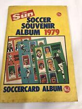The Sun Soccer Souvenir Album 1979 Full Of Cards