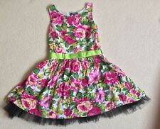 New York Laundry Womens Dress  12 Pretty floral Vintage look Spring racing