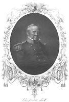Mexican American War GRAND OLD MAN ARMY WINFIELD SCOTT, 1865 Art Print Engraving