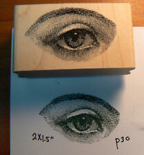 Eye rubber stamp WM  P30