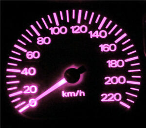 Pink LED Dash Instrument Cluster Light Upgrade Kit for Ford Falcon AU Series 2/3