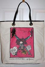 NWT! BETSEYVILLE Betsey Johnson SUPER BETSEY Cartwheel Shopper Tote Bag Ltd Ed