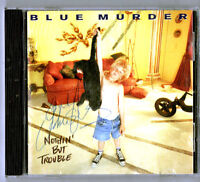Nothin' But Trouble by Blue Murder (CD) autographed by John Sykes.Thin Lizzy