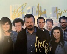 CASTING CROWNS Christian Band Signed Autographed 8x10 Photo MARK HALL RARE COA