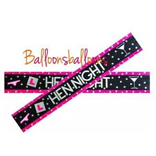Hen Do Bunting Party Banner Garland Photo Props Hen Party Do Celebration 9ft Uk