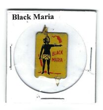 Black Maria Chewing Tobacco Tag